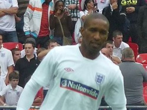 Jermain Defoe in action