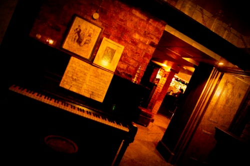 The Piano Room at Purl