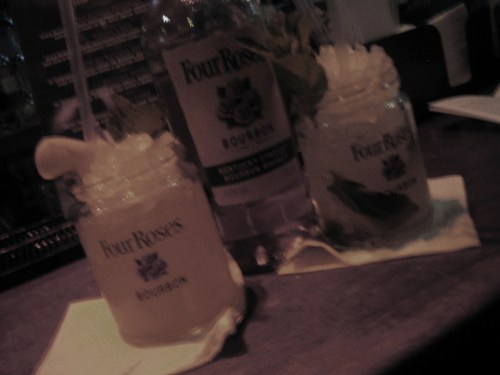 Four Roses cocktails at Lab
