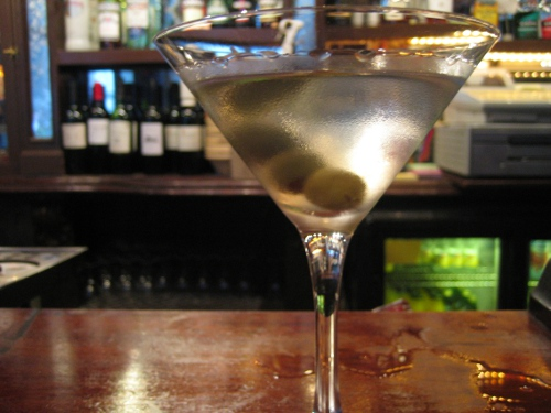 A Martini at the Seven Stars pub