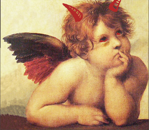 Cupid in his true guise