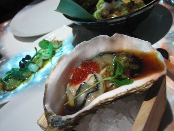 Scallops and Oysters