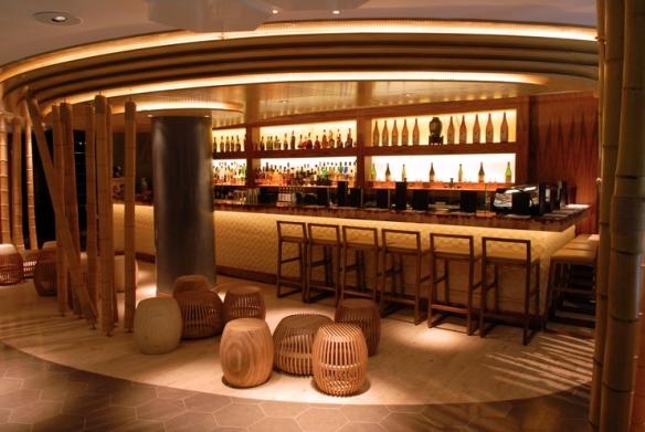 The bar at Inamo