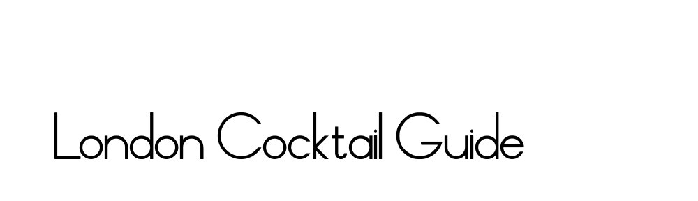 The London Cocktail Guide